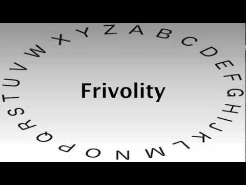 Captivating SAT Vocabulary Words And Definitions U2014 Frivolity