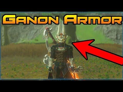 HOW TO GET THE PHANTOM GANON ARMOR! // Zelda BoTW: The Champions' Ballad // BEST ARMOR IN ZELDA!