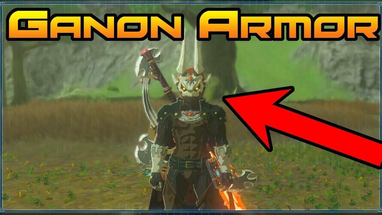 How To Get The Phantom Ganon Armor Zelda Botw The Champions Ballad Best Armor In Zelda