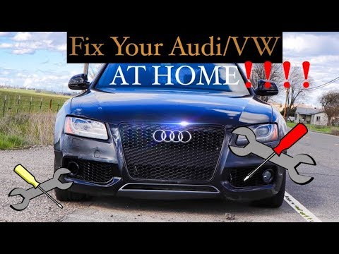 How to Fix Your Audi or VW at Home DIY Repairs Maintenance   MrCarMAN