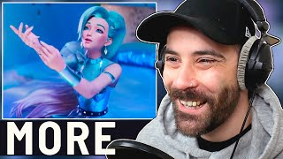 KPOP Producer Reacts to MORE - K/DA