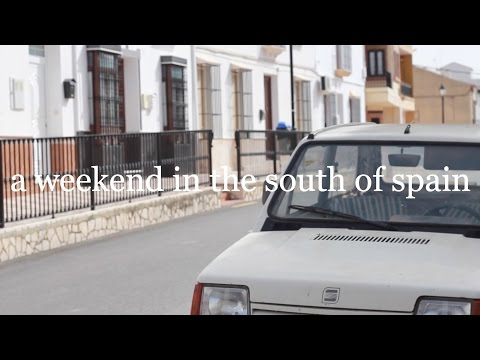 A weekend in the south of Spain