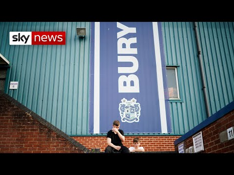 Bury FC expelled from the EFL