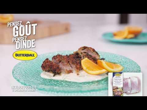 Dinde à La Milanaise, Crème De Fenouil