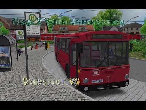 Omsi 2 with Jokervation   Oberstedt V2   22   MB 305G Bahnbus  
