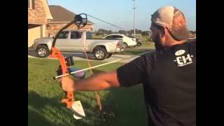 Compound bow failure!! Dry fire
