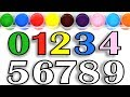 Learn Numbers Coloring Pages / Water Paint / AKN Kids House