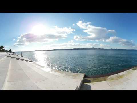 The Sea Organ of Zadar in VR - 360 experience