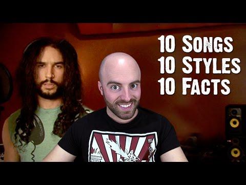 10 Songs, 10 Styles, 10 Facts With Matthew Santoro | Ten Second Songs