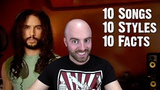 10 Songs, 10 Styles, 10 Facts With Matthew Santoro | Ten Second Songs