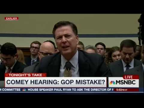 James Comey testifies on Clinton's emails 2016 07 07