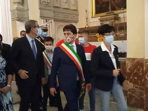 #musumeci #PalazzoAdriano  17/09/2020 Musumeci visita Palazzo Adriano