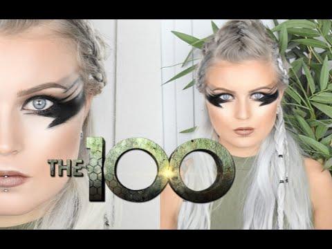The 100- Wanheda Makeup and Hair Tutorial?