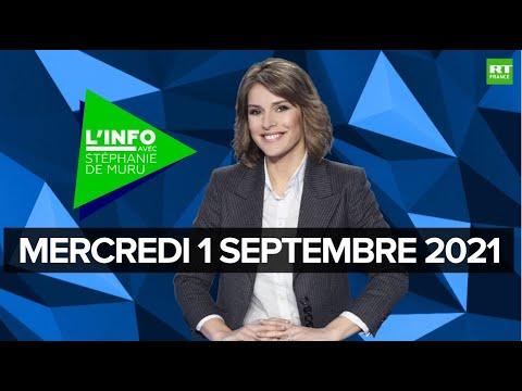 Download L'Info avec Stéphanie De Muru - Mercredi 1er septembre 2021