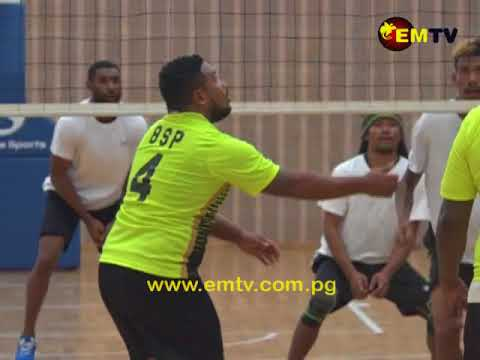 Port Moresby Corporate Volleyball Competition Progressing Smoothly