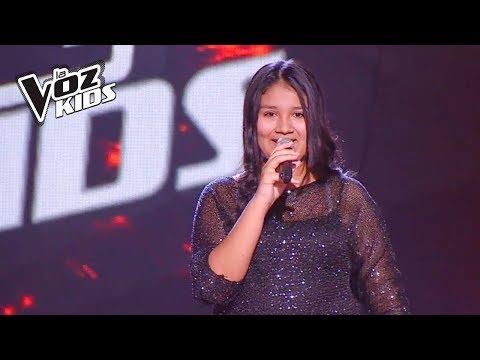 Sarai canta Skyfall  Audiciones a ciegas  La Voz Kids Colombia 2018