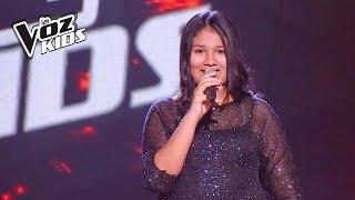 Sarai canta Skyfall - Audiciones a ciegas | La Voz Kids Colombia 2018
