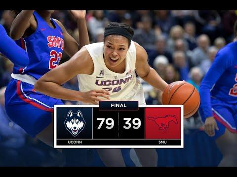 UConn Women's Basketball Highlights v. SMU 01/23/2019