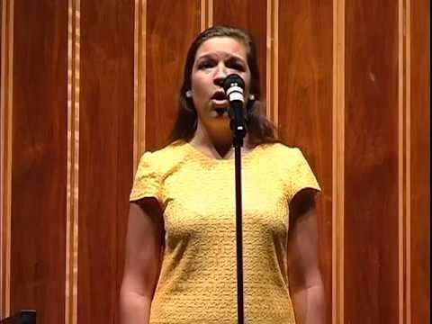Madeline Zuniga:  Milder Musical Arts 35th Anniversary Concert