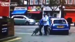 LiveLeak.com - Nine year old boy's head run over by a car