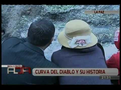 Rituales satánicos se realizan en la curva del diablo en el sector de la autopista La Paz  El Alto