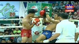 ឃីម បូរ៉ា Khim Bora Vs (Thai) Phet Nginthong , SeaTV Boxing, 13/October/2018