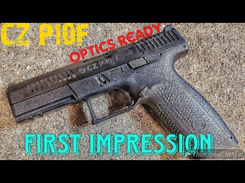 CZ P10F Optics Ready first look
