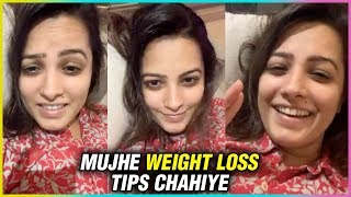 Anita Hassanandani Gets Weight Loss Tips From Her Fans In Her Instagram LIVE Video