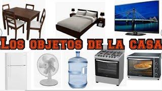 Los objetos de la casa en español