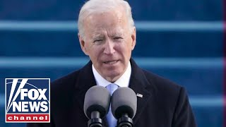 Judge Jeanine: Welcome to the Biden admin, home to new slogan, 'America Last'