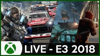 E3 2018 LIVESTREAM - Microsoft (XBOX) Conferencia COMPLETA [Comentada em Português, PT-BR]