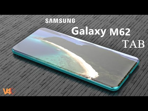 Samsung Galaxy M62 TAB First Look, Price, 5G, Launch Date, Camera, Features, Trailer, Leaks, Specs
