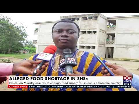 Education Ministry assures of enough food supply for students across the country - Joy News(17-9-21)
