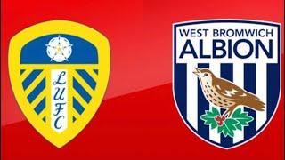 Leeds United Vs West Brom   4-0