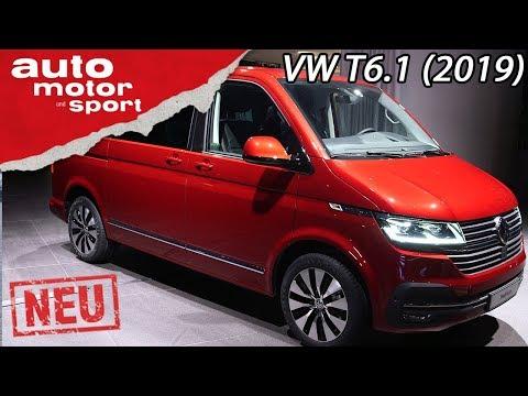 Neu: Volkswagen T6.1 2019: Was bringt das Update? | Review | auto motor und sport