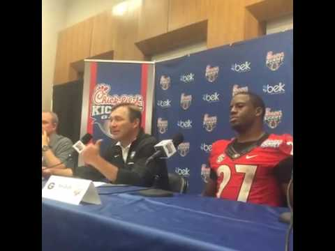 Kirby Smart's post game press conference after North Carolina