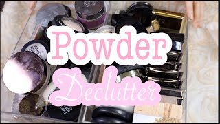 FACE POWDER & TRANSLUCENT POWDER DECLUTTER