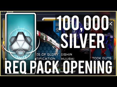 100,000! SILVER REQ Pack Opening - Xbox One (Halo 5 Guardians)