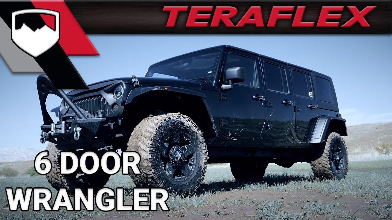 Teraflex 6 Door Wrangler