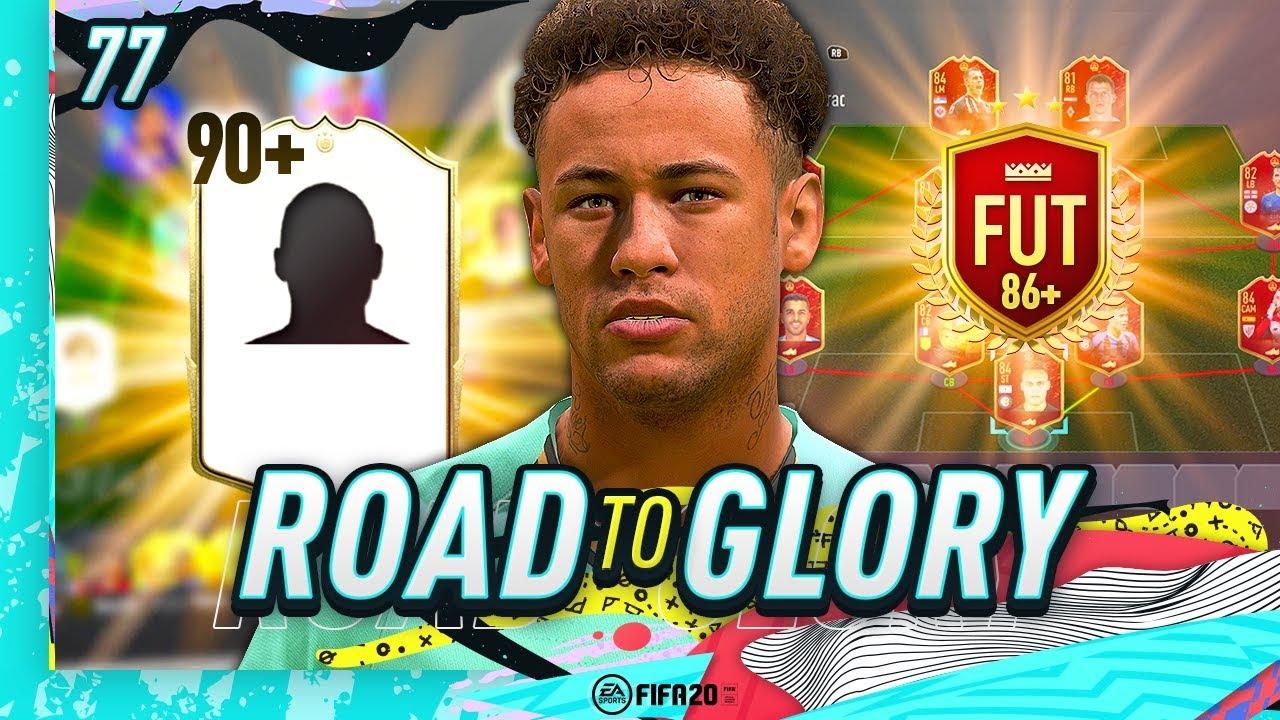 FIFA 20 ROAD TO GLORY #77 - MY NEW ICON & RED 86+ UPGRADE SBC!! thumbnail