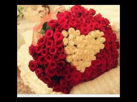 Большие букеты роз