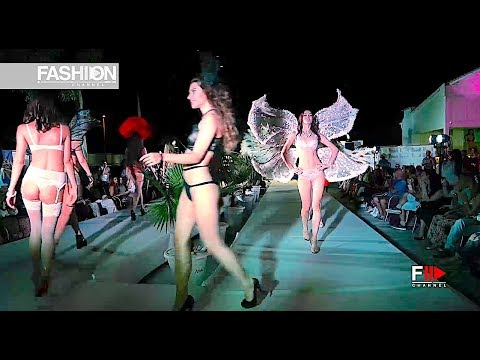 SAVANA & GRITSANNA - Perwoll Odessa Fashion Week Cruise 2017 Mafia Rave Terrace - Fashion Channel