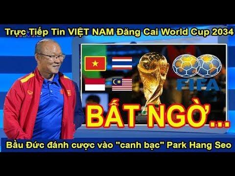 """Trực Tiếp Tin Việt Nam Đăng Cai World Cup 2034, Bầu Đức đánh cược vào """"canh bạc"""" Park Hang Seo – BQ"""