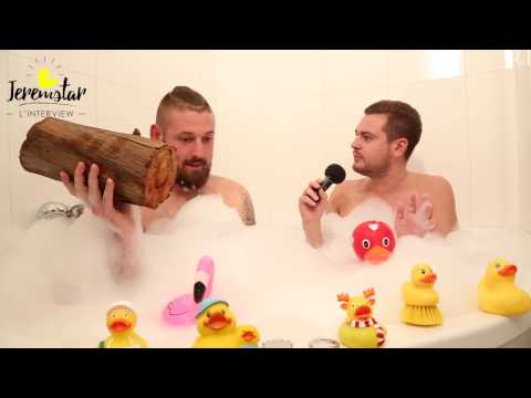 Brandon (Les Princes de l'Amour 4) dans le bain de Jeremstar - INTERVIEW