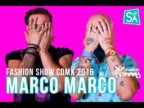 Fashion Show Marco Marco en México – Johnny Carmona