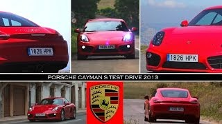 2013 Porsche Cayman S Test Drive