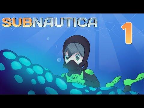 I CRASH LANDED.. AGAIN!?!? | Ep 1 | Subnautica