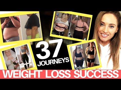 WEIGHT LOSS & HEALTH  SUCCESS – 37 INSPIRING BEFORE & AFTER  PICTURES – REAL STORIES & REAL RESULTS