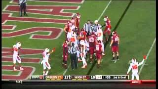 Washington State vs Oregon State 2013
