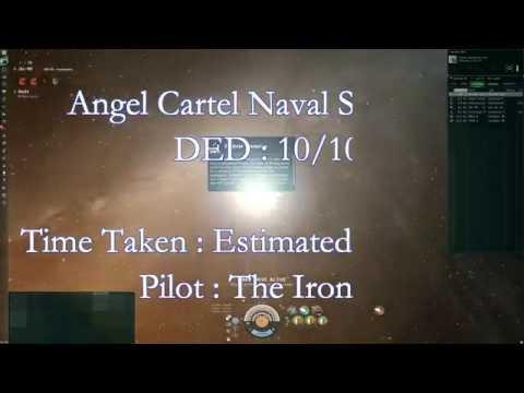 Eve Online - Angel Cartel Naval Shipyard DED 10/10 (Barghest)